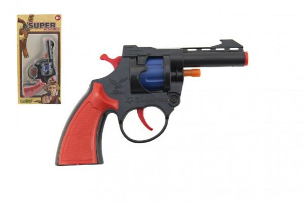 Pistole - Kapslovka 15cm 8 ran na kartě