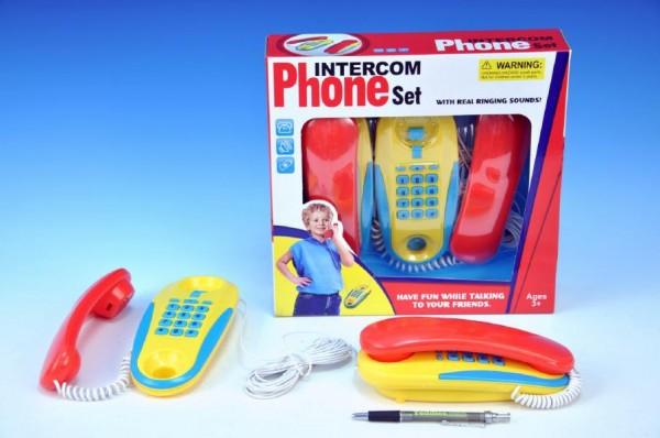 Telefony pokoj - pokoj na baterie 2ks v krabici