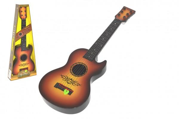 Kytara s trsátkem 59cm plast v krabici 23x59x7cm