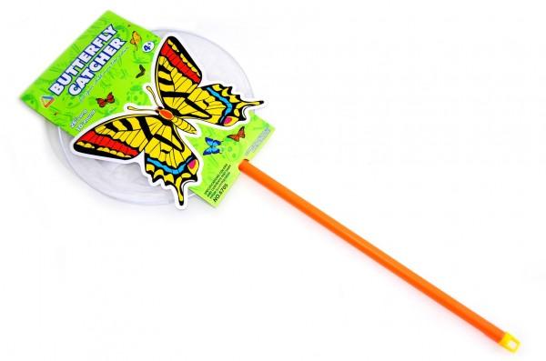 Síťka na hmyz plast/kov 65cm průměr 25cm na kartě