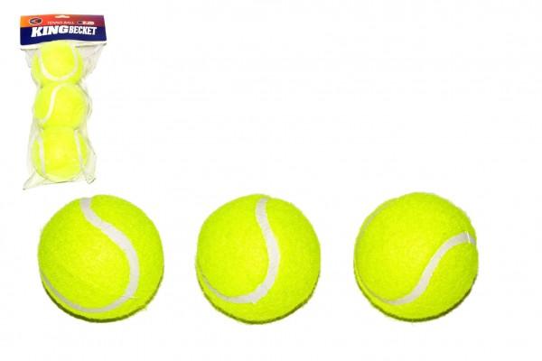 Tenisové míčky 3ks v sáčku 11x26cm