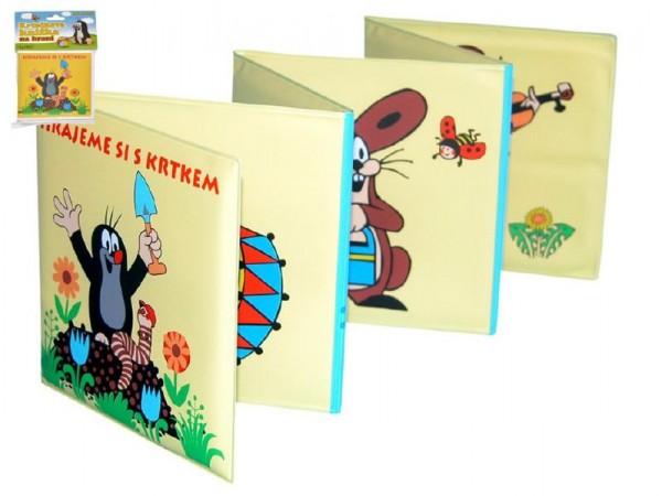 Rozkládací knížka Krtek plast 12x12cm v sáčku