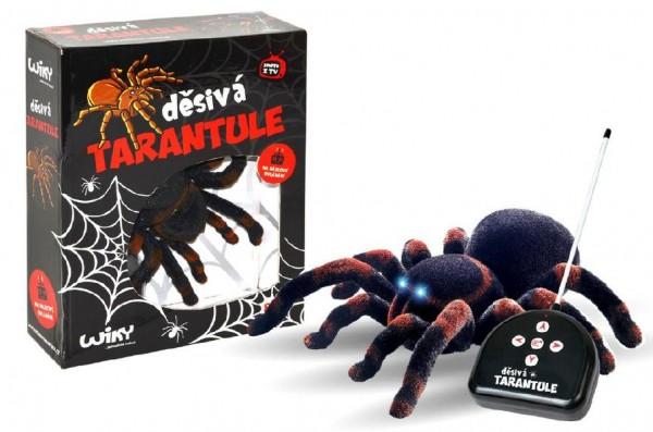 Děsivá Tarantule RC plast na baterie 4xAA a 1x9V 27MHz 33x26,5x9,5cm v krabici