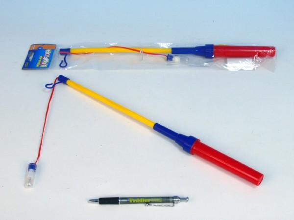 Hůlka k lampionu 39cm na baterie karneval