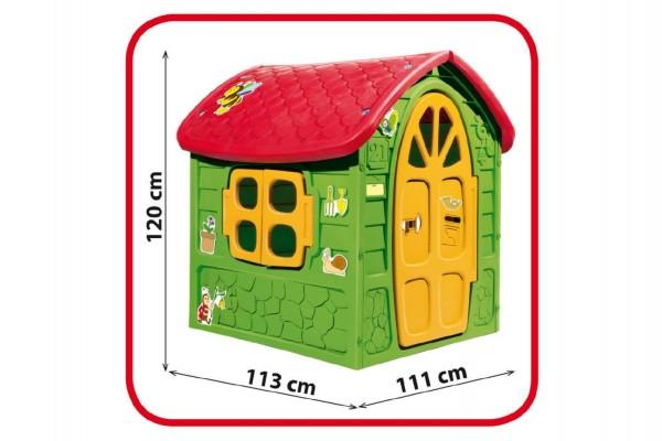 Domeček plastový 111x120x113cm