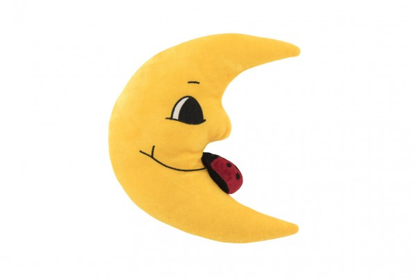 Měsíc plyš 27cm s beruškou 0+