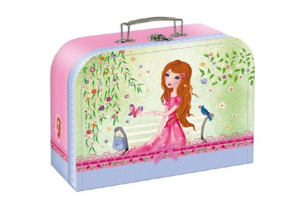 Kufřík dětský školní papírový Girls Fairy Tales vel.20 cm