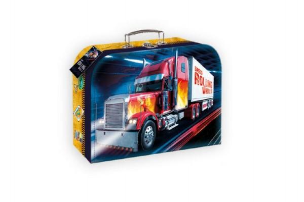 Šitý kufr/kufřík truck kamion 25x19cm