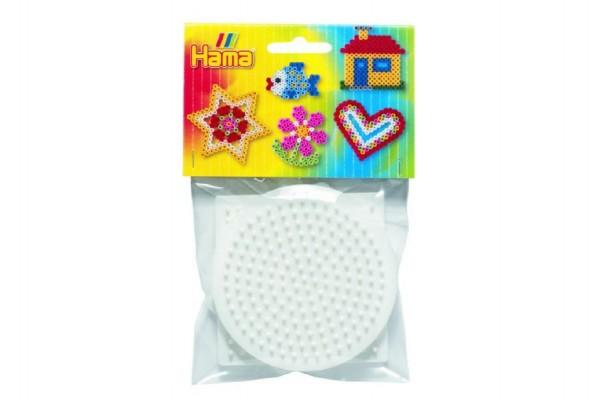 Podložka na zažehlovací korálky - kolečko,čtverec,šestiúhelník 3ks v sáčku 9x9cm