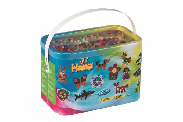 Zažehlovací korálky Hama MIDI 10.000ks v boxu mix 48 barev