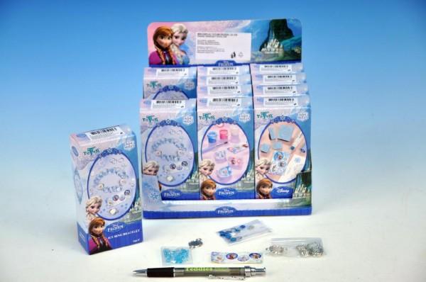 Kreativní sada Ledové království/Frozen asst 3 druhy v krabičce 6x13x3cm 12ks v boxu