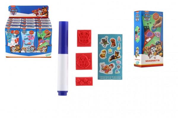 Kreativní sada 3 druhy Paw Patrol/Tlapková patrola v krabičce 6x13x3,5cm 12ks v boxu
