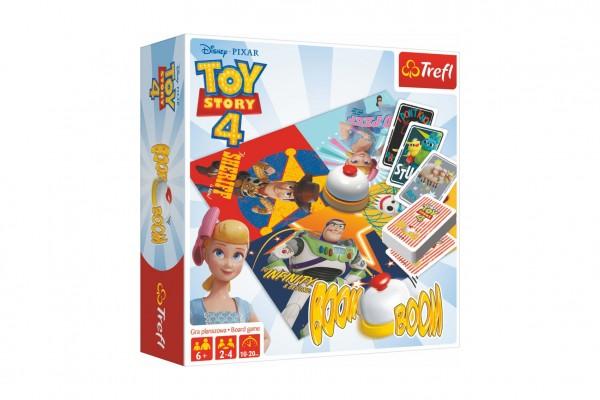 Boom Boom Příběh hraček 4/Toy Story 4 společenská hra v krabici 26x26x8cm