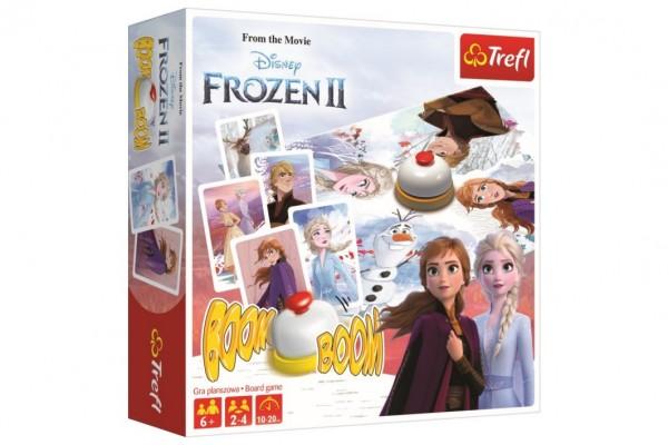 Boom Boom Ledové království II/Frozen II společenská hra v krabici 26x26x8cm
