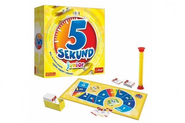 5 Sekund junior společenská hra v krabici 26x26x8cm CZ verze