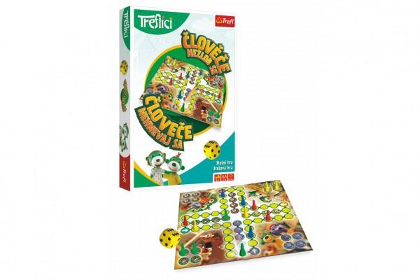 Člověče, nezlob se s Rodinou Trefliků společenská hra v krabici 19x29x4 cm