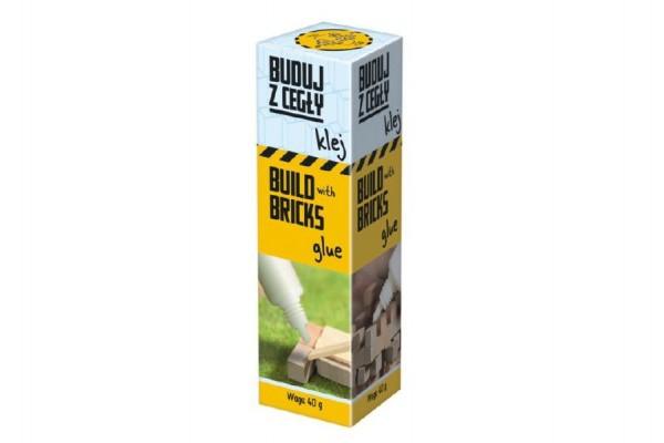 Stavěte z cihel Náhradní lepidlo 40gr Brick Trick v krabičce 3x10x3cm 12ks v boxu