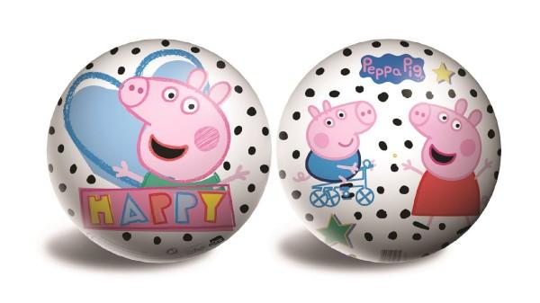 Míč gumový nafouklý Prasátko Peppa/Peppa Pig průměr 23cm