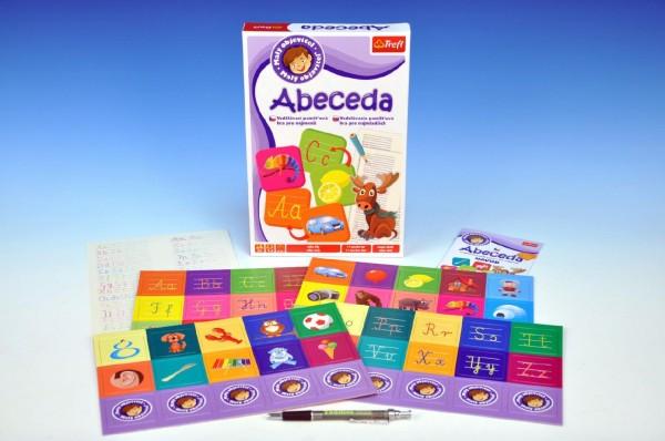 Malý objevitel Abeceda společenská hra v krabici 19x29x4cm