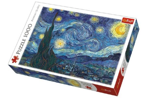 Puzzle Hvězdná noc 1000 dílků v krabici 40x27x6cm