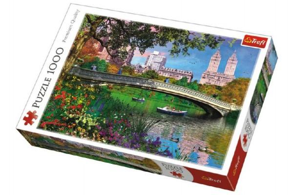 Puzzle Central Park, New York 1000 dílků v krabici 40x27x6cm
