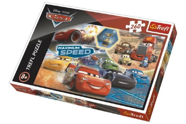 Puzzle Cars 3 koláž 260 dílků 60x40cm v krabici 40x27x4cm
