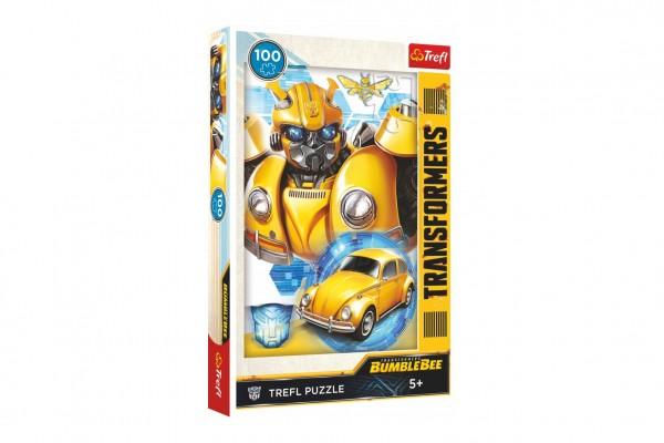 Puzzle Transformers/Bumblebee 100 dílků 27,5x41cm v krabici 19x29x4cm