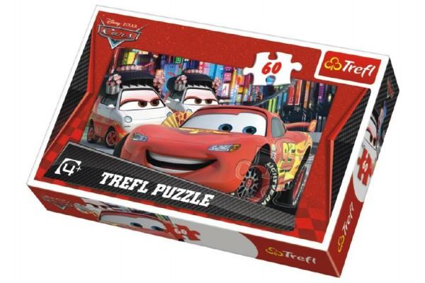 Puzzle Cars Tokyo 33x22m 60 dílků v krabici 21x14x4cm