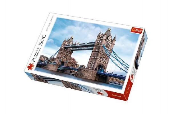 Puzzle Tower Bridge 1500 dílků 85x58cm v krabici 40x26x6cm