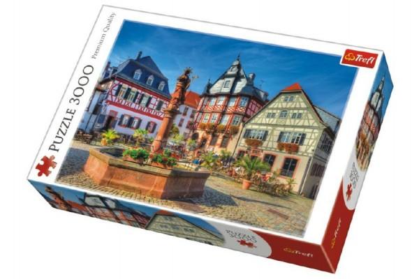 Puzzle Tržište Heppenheim 3000 dílků 116x85cm v krabici 40x27x9cm