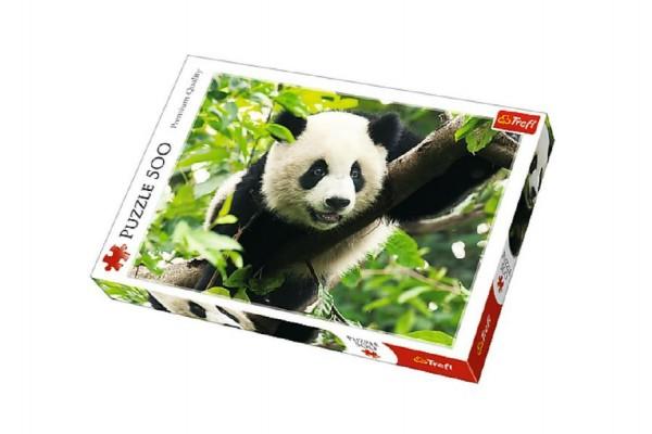 Puzzle Panda 500 dílků 48x34cm v krabici