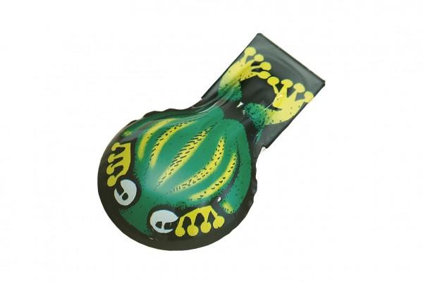 Cvakačka žába kov 6cm v sáčku