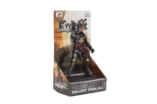 Figurka voják bojovník rytíř plast v sáčku 12x16x2cm 24ks v boxu