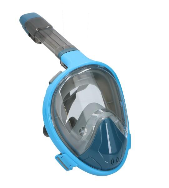 Šnorchlovací potápěčská maska pro dospělé 27cm vel. L-XL asst 2 barvy v sáčku