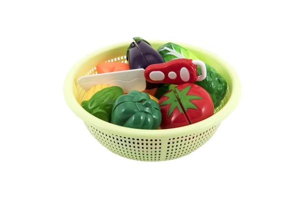 Krájecí ovoce a zelenina v košíku plast 20cm v sáčku